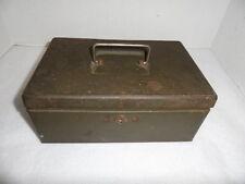 Vintage New Britain Machine Company Cash Box with Key