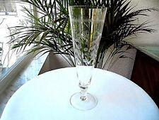 Set of 4 Antique Arcadia Glass Co. Crystal Pilsner Glasses Etched