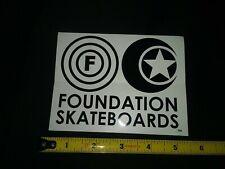 Vintage Foundation Skateboard Sticker Tracker Trucks - Independent Trucks