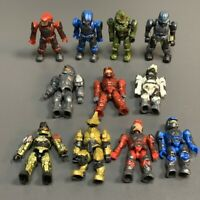 Lot 11 Mega Bloks Construx Halo UNSC SPARTAN MASTER CHIEF Building Figure NEW K2