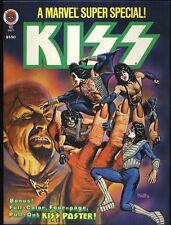 1978 Kiss Marvel Super Special #5 Fold-Out Poster Intact John Romita Jr.