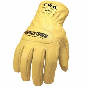PzFst 8177 SpCFR Special Force Glove with Cut Protection Made of Kevlar Fireproof Nomex and Leather Palm//Military and Police