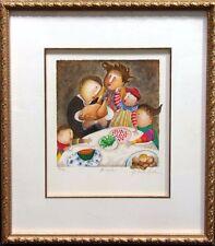 "Graciela Rodo Boulanger ""November"" from The Year 2000 Calendar Suite Lithograph"