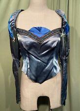Vintage Renaissance Medieval Ladies' Costume Blouse Bodice Huge Sleeves Bust 32