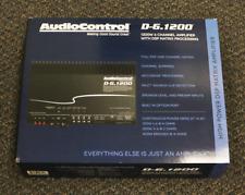 AUDIOCONTROL D-6.1200 1200W MULTICHANNEL AMPLIFIER CAR AUDIO AMP WITH DSP MATRIX