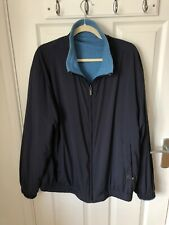 zegna sport jacket Mens Blue Reversible Jacket Size XXL Cashmere Mix
