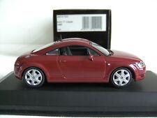 """MINICHAMPS Audi TT Coupé 1998  """"red""""  1/43 N° 430 017221"""