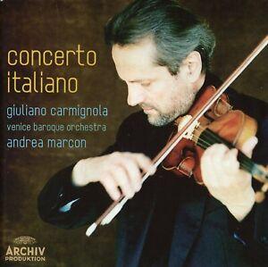 Concerto Italiano / Giuliano Carmignola