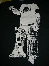 GONGSHOW graphic men's black t shirt Large ice hockey NHL short sleeve Canada