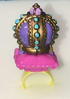 Polly Pocket Crown Surprise  Ring Complete  Doll 1994 bluebird vintage