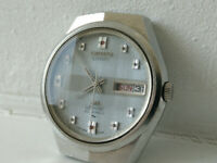 Vintage Seiko 5206 - 6100 Lord Matic Special 23J Automatic Watch 1972