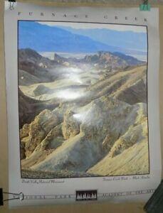 1993 Death Valley National Monument FURNACE CREEK Poster / Print  Mark Hamlin