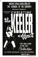 Christine Keeler Affair Poster 01 A2 Box Canvas Print