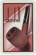 Playing Cards 1 Swap Card - Old Vintage Advertising DUNHILL Pipe Tobacco Smoking