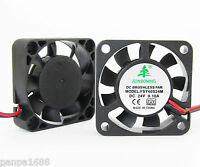 1x Brushless DC Cooling Fan 40x40x10mm 4010 9 blades 24V 0.1A 2pin Connector