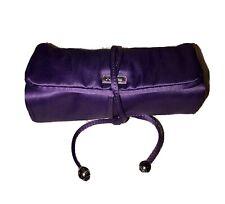 COACH Satin Jewelry Accessory Organizer Purple EUC