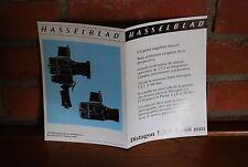 REVUE HASSELBLAD DISTAGON 1:3,5 f=60 mm 06/1975