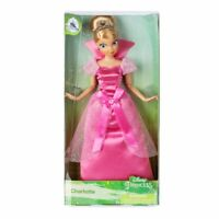 """Charlotte Classic 11"""" Doll  -The Princess and the Frog- AUTHENTIC DISNEY NIP NEW"""