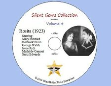 """DVD """"Rosita"""" (1923) Ernst Lubitsch, Mary Pickford, Holbrook Blinn, Classic Drama"""