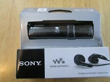 Sony Nwz-B183F Flash Mp3 Player with Built-in Fm Tuner (4Gb) - Black