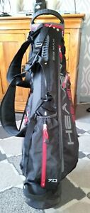 Golf - Big Max Heaven Seven Carry/Stand Bag with rain hood - used for 9 holes