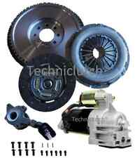 FORD MONDEO 2.2 TDCI DMF FLYWHEEL REPLACEMENT FLYWHEEL, STARTER, CLUTCH, CSC