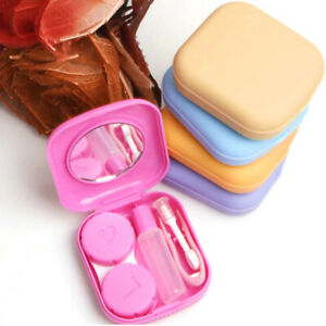 Mini contact lens box, portable, eyewear accessories durable