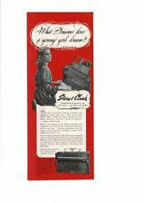 VINTAGE 1948 STORY & CLARK PIANOS YOUNG GIRL INSTRUMENTS AD PRINT