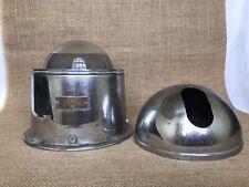 Vintage Nautical Ships Brass Compass Spherical Hand & Sons Co Hansphere Binnacle