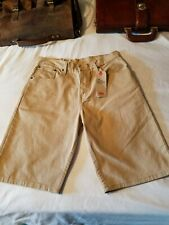 Men's Levis 569 Loose Straight Shorts Stretch Sz. 31 But Fit 32 New