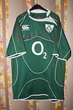 RARE IRELAND IRFU CANTERBURY RUGBY FOOTBALL UNION SHIRT JERSEY PLAYER ISSUE L