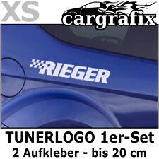 Tuner Marken Aufkleber Tunerlogo Sponsorenaufkleber Cartuning Decal Sticker Set