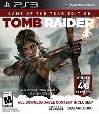 NEW Tomb Raider: Game of the Year GotY Edition  (Sony Playstation 3, 2014) NTSC