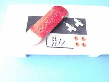 Gator wooden fingerboard compatible with all tech decks toy RedWhiteRed