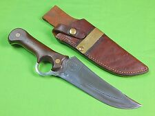 US Custom Hand Made SPIVEY SABERTOOTH Cowboy Hall Fame Survival Fighting Knife