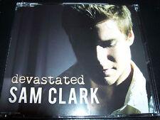 Sam Clark (Neighbours) Devastated Rare Enhanced CD Single - Like New
