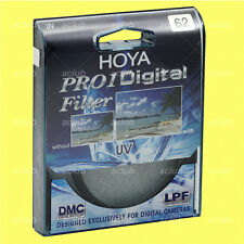 Genuine Hoya 62mm Pro1D Digital UV Filter