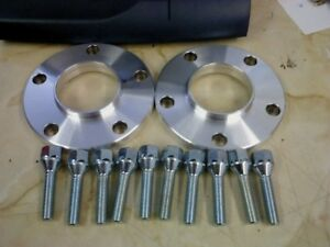 VW T5 MTEC Hubcentric 20mm Wheel Spacers & Tapered Bolts PCD 5x120 65.1CB