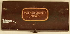 VALET AUTO STROP RAZOR IN METAL BOX MEEKER COUNTY NEWS CIRCA 1920 MN