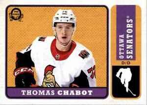 2018-19 O-Pee-Chee Retro Thomas Chabot #346