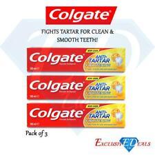 Colgate Toothpaste Anti-Tartar Whitening Smooth Teeth Fights Tartar 100ml x 3