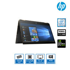 """HP Spectre x360 15.6"""" Touch Convertible Laptop Core i7-9750H, 16GB RAM 512GB SSD"""