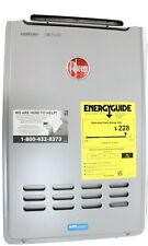 New Rheem ECO200XLN3-1 Outdoor Natural Gas Tankless Water Heater 9.5 OPEN BOX