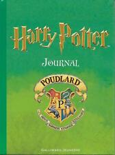 HARRY POTTER : JOURNAL - POUDLARD - GALLIMARD JEUNESSE -2001-