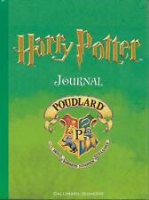 HARRY POTTER : JOURNAL - POUDLARD - GALLIMARD JEUNESSE -2001-