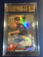 2018 Topps Chrome Update Refractor Auto RC Shane Bieber SSP 💎BGS 9.5/10 ASG/MVP