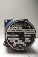 SUPERIOR ELECTRIC SS25-1110U QUANTITY! 72RPM 120V SYNCHRONOUS STEPPING MOTOR
