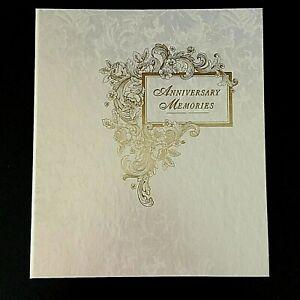 Hallmark Wedding Anniversary Photo Scrapbook Album
