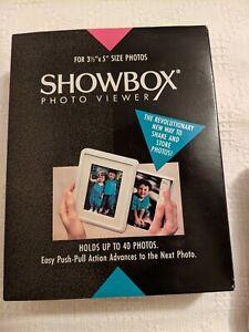 """New 1991 Burnes Showbox Photo Viewer for 3.5"""" x 5"""" Photo Viewer Switzerland"""