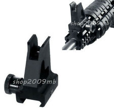 Metal High Profile detachable front Iron Sight Picatinny/Weaver rails Black